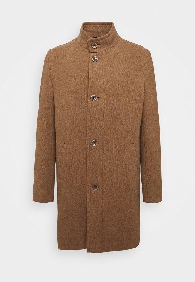 Abrigo corto - cognac