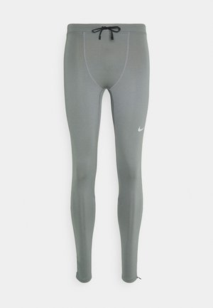 Leggings - smoke grey/reflective silver