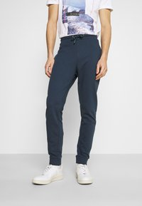 Springfield - TERRY - Pantaloni sportivi - medium blue - 0