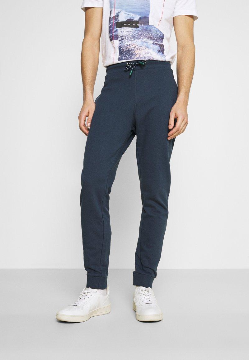 Springfield - TERRY - Pantaloni sportivi - medium blue