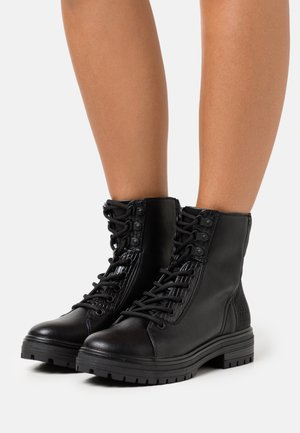 ALEXIA - Lace-up ankle boots - black