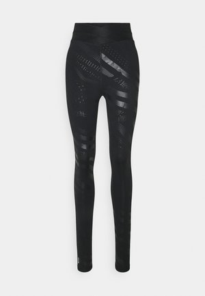ONPONAY TRAINING - Leggings - Trousers - black