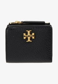 Tory Burch - KIRA MIXED MINI WALLET - Wallet - black