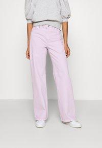 Monki - YOKO - Straight leg jeans - lilac purple light - 0