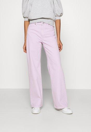 YOKO - Jeans straight leg - lilac purple light