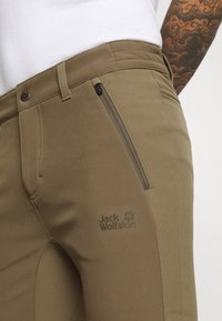 Jack Wolfskin - ZENON PANTS MEN - Pantalones montañeros largos - granite - 5