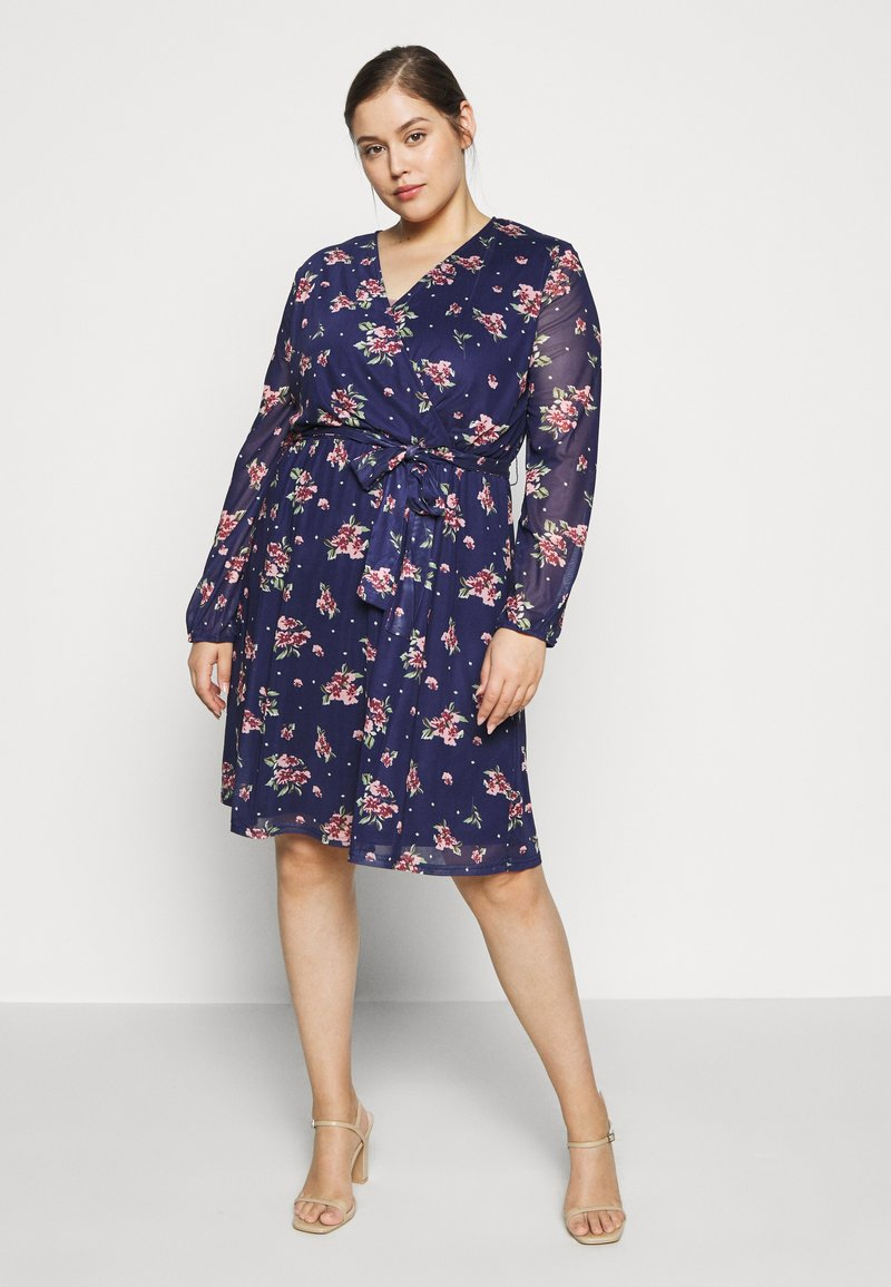Anna Field Curvy - Day dress - dark blue