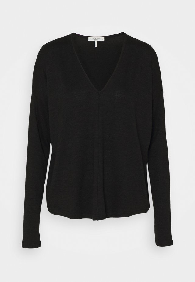 THE KNIT  - Strikkegenser - black