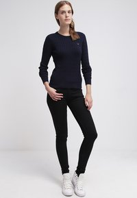 GANT - CABLE CREW - Pullover - evening blue - 1
