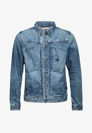SCUTAR SLIM - Denim jacket - faded regal blue