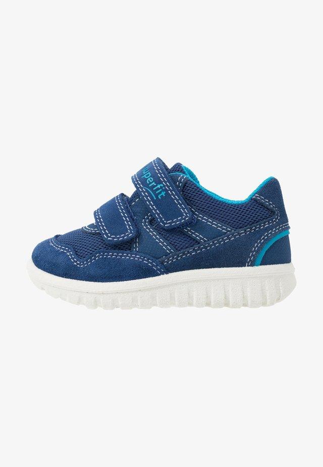SPORT MINI - Touch-strap shoes - blau