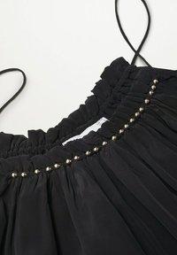 Mango - VALE - Cocktail dress / Party dress - schwarz - 7