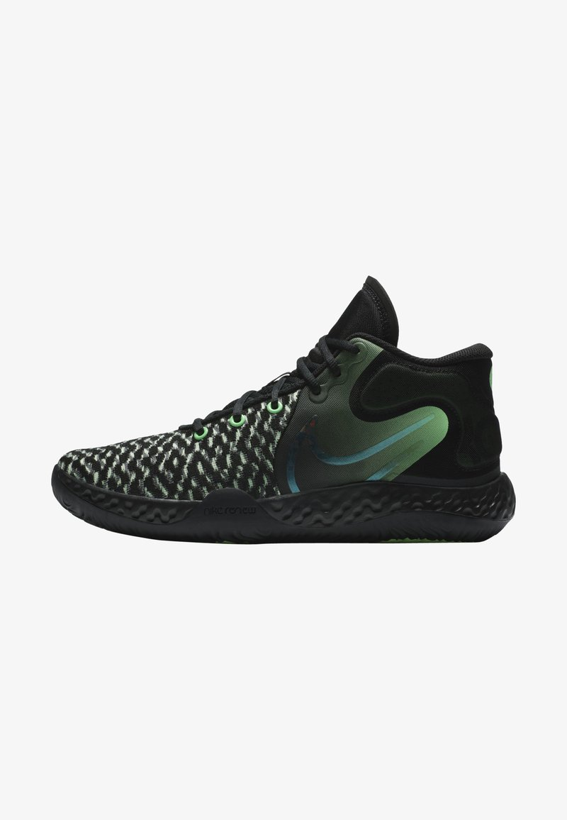 Nike Performance - KD TREY 5 VIII  - Basketball shoes - black/illusion green/racer blue/clear