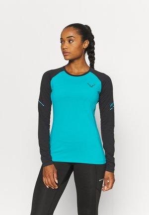 ALPINE PRO TEE - Sports shirt - black out ocean