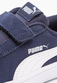 Puma - SMASH V2 - Baskets basses - peacoat/puma white - 5