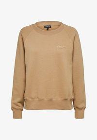 Selected Femme - Sweatshirt - tigers eye - 5