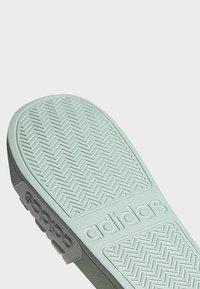 adidas Performance - ADILETTE SHOWER SLIDES - Pool slides - green tint - 9