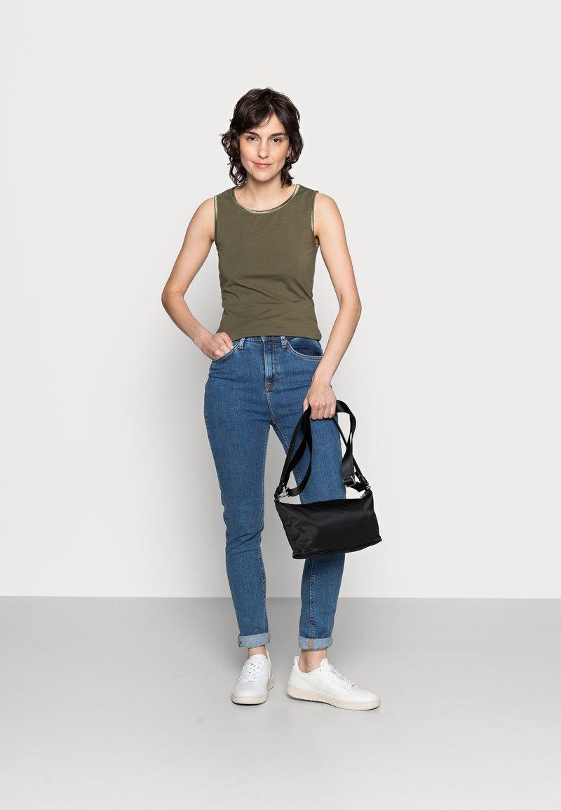 Anna Field - 3 PACK - Top - black/white/khaki