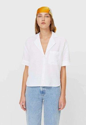 MIT KURZEN ÄRMELN  - Košile - white