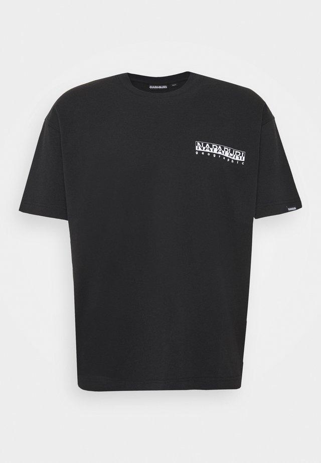 YOIK UNISEX - T-shirt con stampa - black