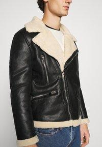 Sixth June - AVIATOR JACKET - Faux leather jacket - black - 5