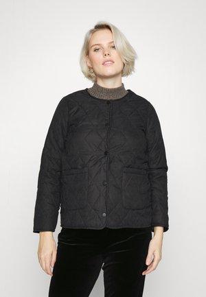 PCMFREDAH QUILTED  - Light jacket - black
