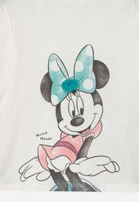 OVS - MINNIE PRINT - Long sleeved top - snow white - 2