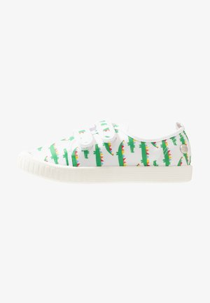 CLASSIC BEN - Touch-strap shoes - white