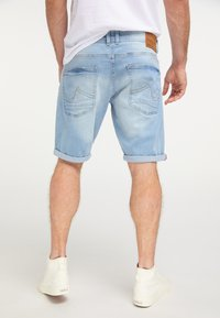 Petrol Industries - Denim shorts - bleached denim - 2