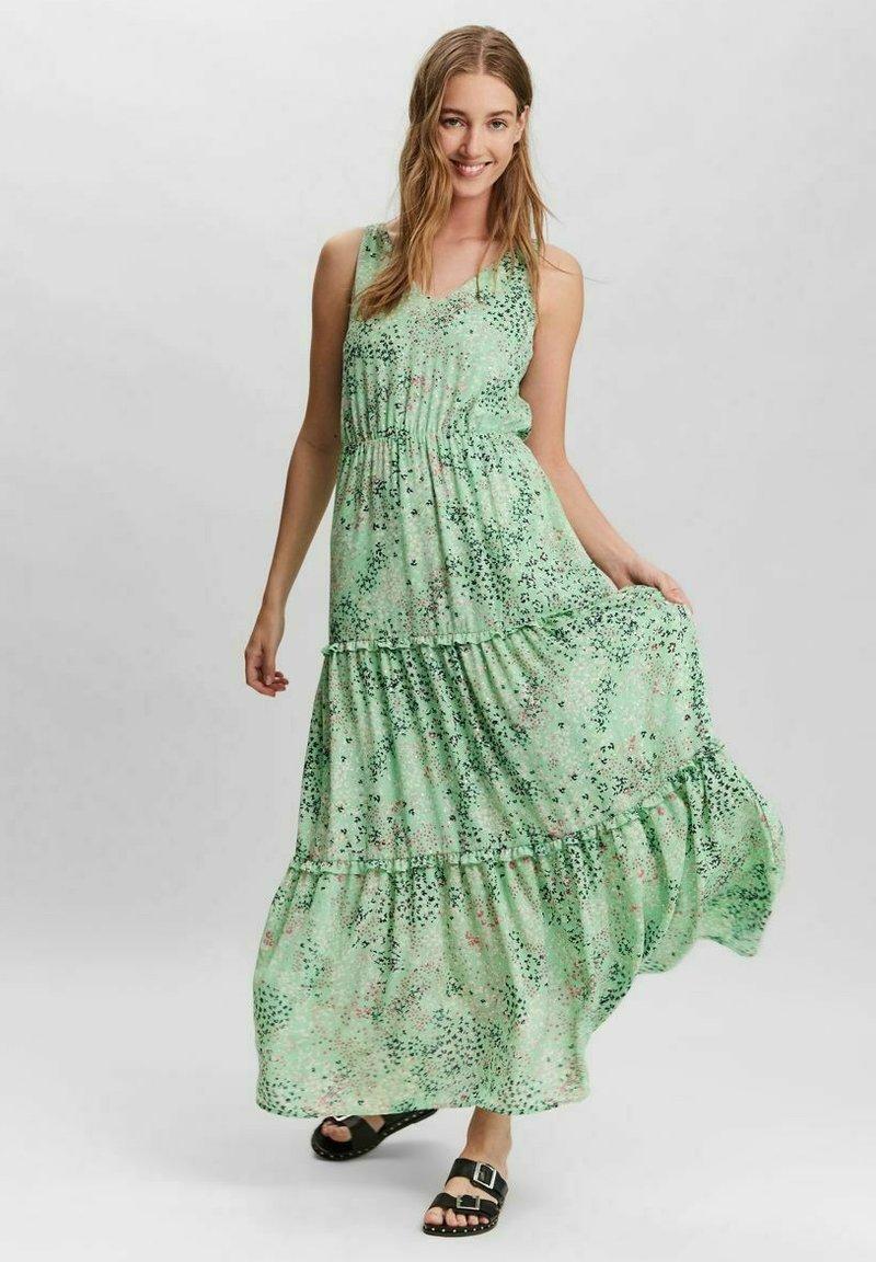 Vero Moda - HANNAH - Maxi dress - jade cream