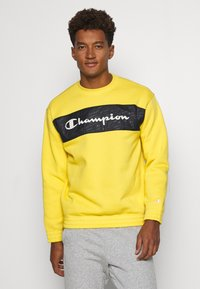 Champion - CREWNECK - Mikina - yellow - 0
