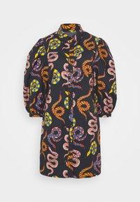 Farm Rio - SNAKES MINI DRESS - Shirt dress - multi - 4