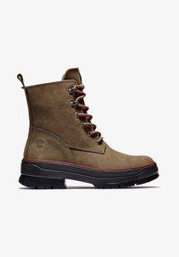 Timberland - MALYNN MID LACE EK+ WP - Lace-up boots - olive nubuck - 1