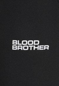 Blood Brother - HANOVER PARK UNISEX - Tracksuit bottoms - black - 6