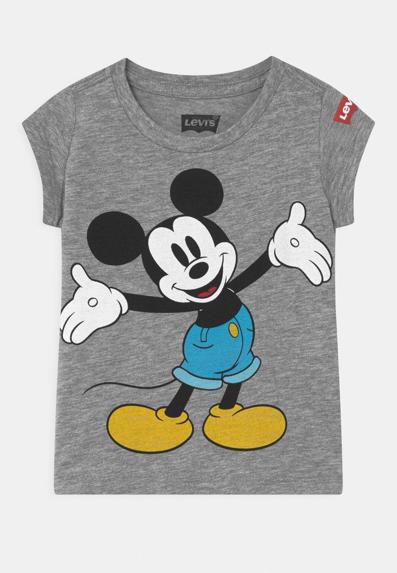 Levi's® - MICKEY MOUSE HAPPY  - Print T-shirt - grey heather