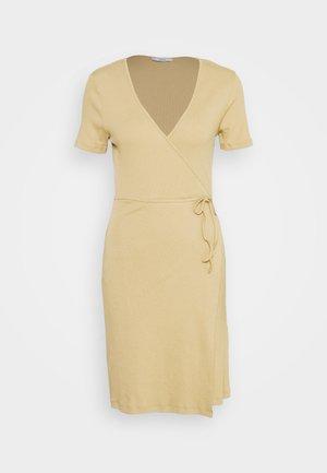 ENALLY DRESS - Shift dress - brown