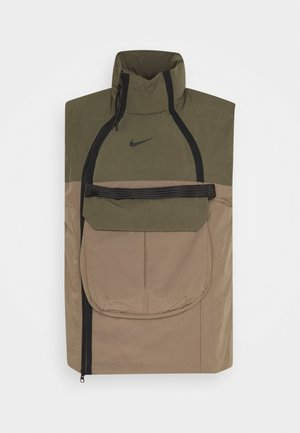 TECH PACK VEST - Smanicato - olive/dark green