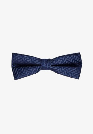 CHAINLINK CIRCLES BOW TIE - Papillon - navy