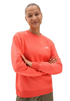 Sweatshirt - hot coral