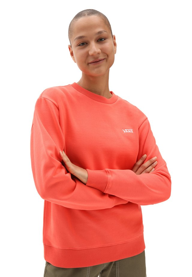 Sweater - hot coral