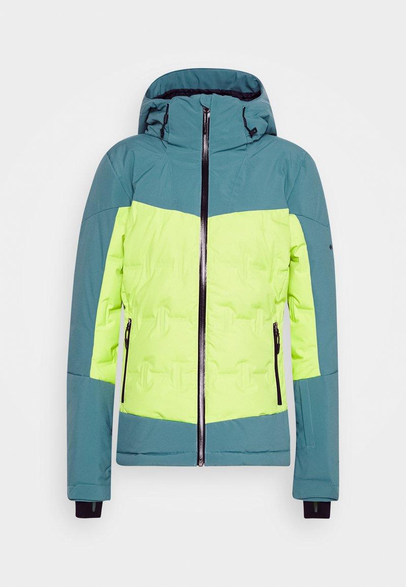 Columbia - WILD CARDDOWN - Ski jacket - voltage/canyon blue