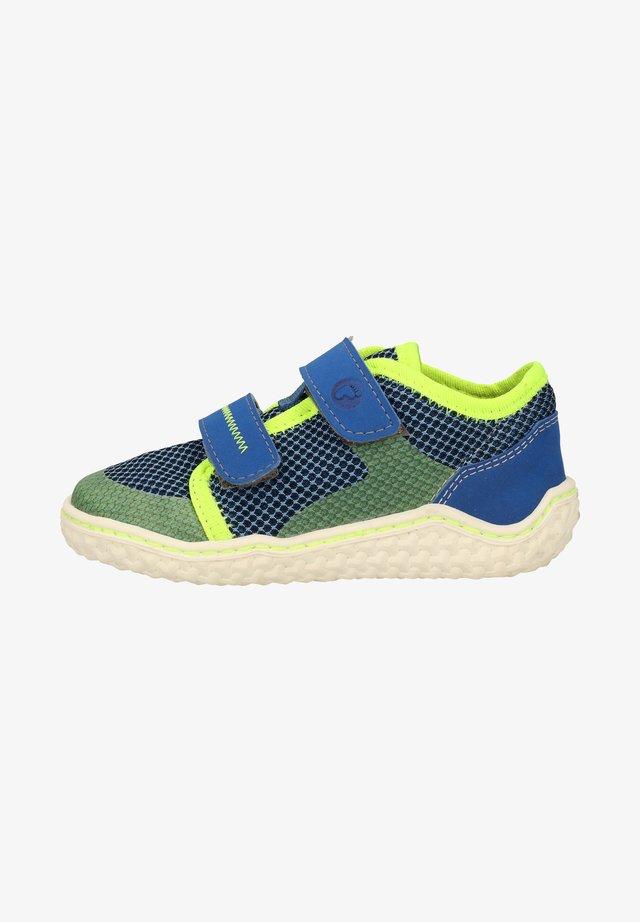 Touch-strap shoes - royal/azur