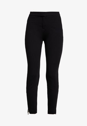 HOSE - Trousers - black