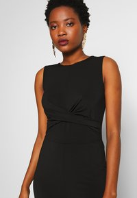 Anna Field - FRONT KNOT SOLID JUMPSUIT  - Mono - black - 3