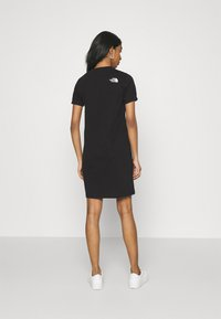 The North Face - TEE DRESS - Jerseykjole - black - 2