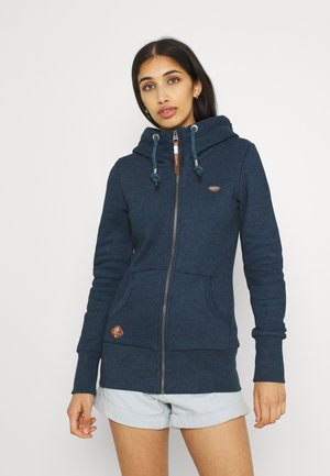 NESKA ZIP - Zip-up sweatshirt - denim blue