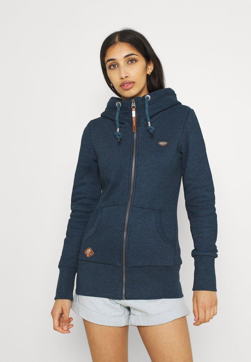Ragwear - NESKA ZIP - Mikina na zip - denim blue