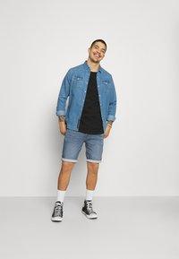 Only & Sons - ONSPLY LIFE - Denim shorts - blue denim - 1