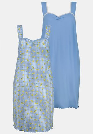 2 PACK - Nightie - wolkenblau