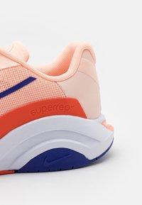 Nike Performance - ZOOMX SUPERREP SURGE - Sports shoes - crimson tint/concord/team orange/crimson bliss/white/lime glow - 5